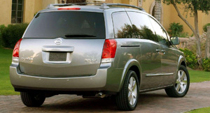 Nissan Quest Exterior Accessories